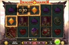 Dragon maiden, une machine à sous Play'n Go !