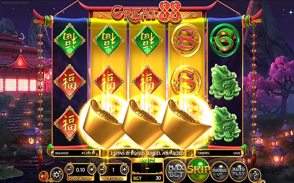 Machine à sous Jackpot Gagnant gratuit dans BetSoft casino