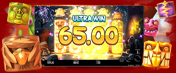 Casino virtuel jeu slot Turning Totems