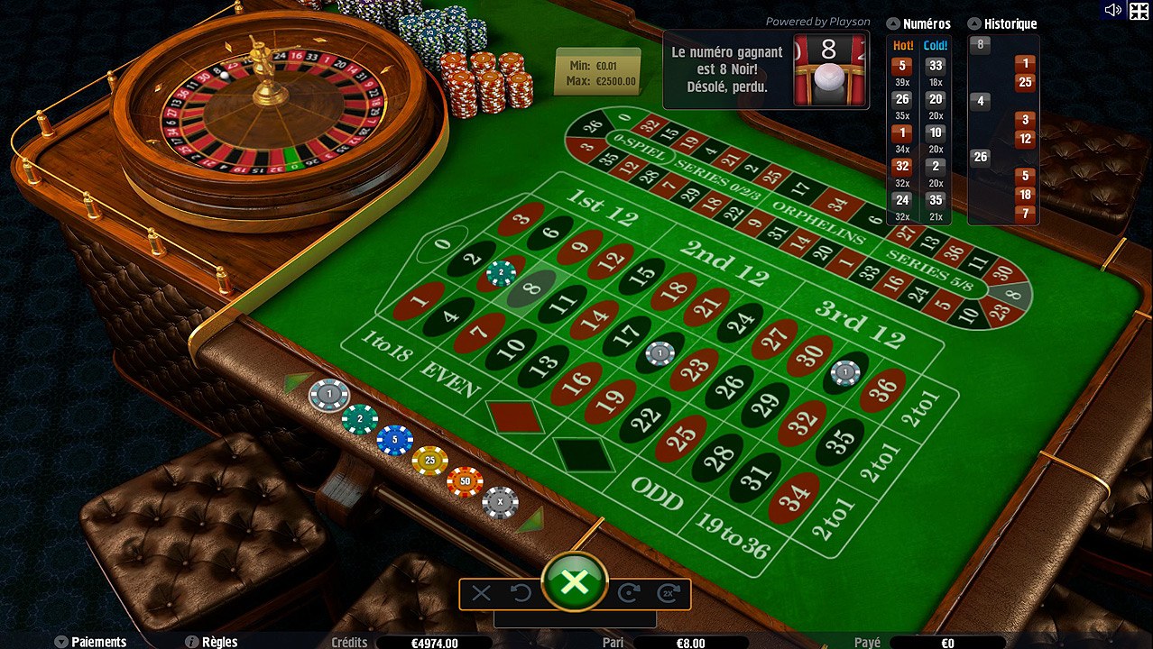 CASINO EN LIGNE ROULETTE VIDEO