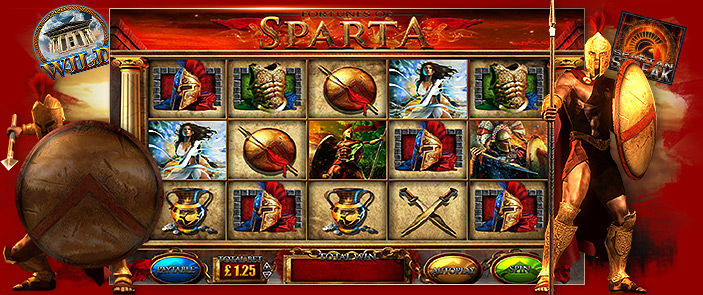 Machine à sous Blueprint Gaming : Fortunes of the Sparta