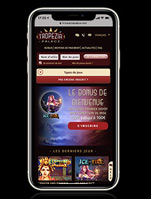 Jeu de casino mobile sur iPhone ou iPad