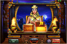 Jeu bonus machine à sous Riches of Cleopatra