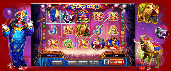 circus jeux de casino