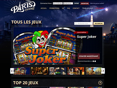 casino en ligne paris casino machine sous 3d jeux de table. Black Bedroom Furniture Sets. Home Design Ideas