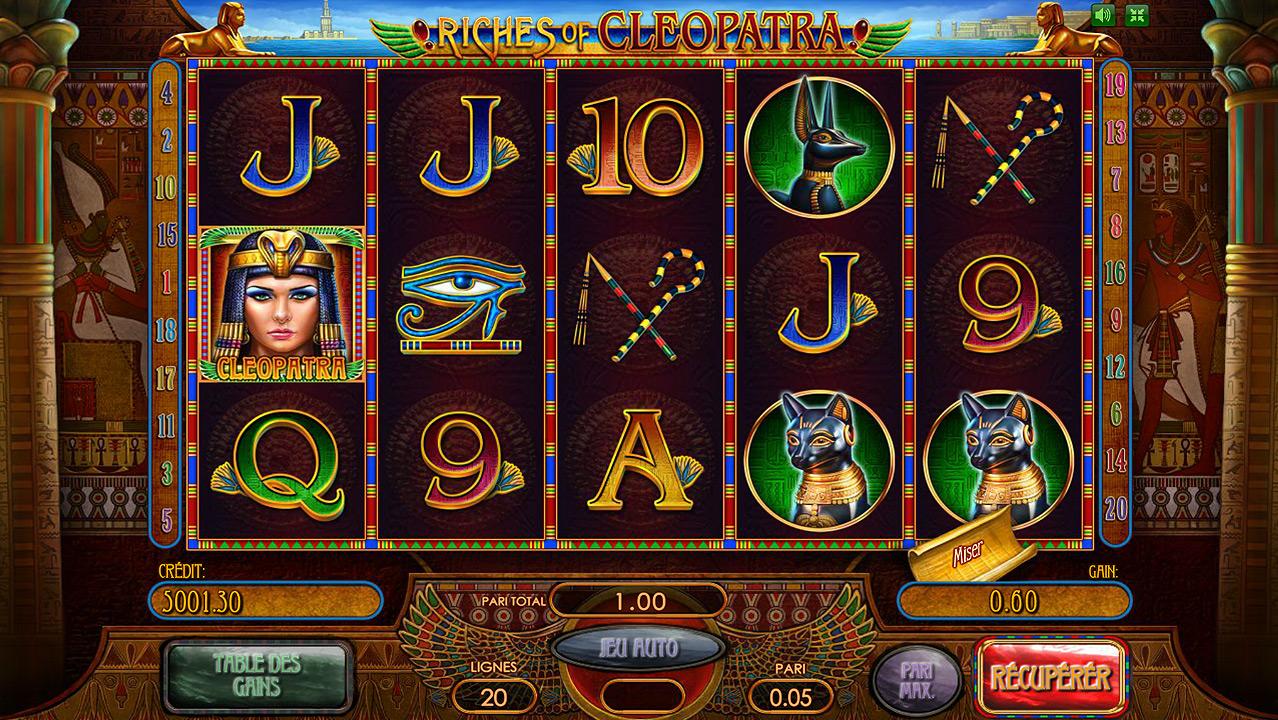 Slots gratuits cleopatra
