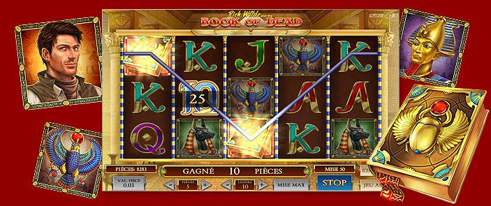 book of dead casino en ligne