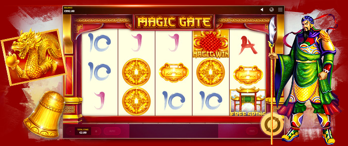 Machine à sous vidéo thème asiatique : Magic Gate de Red Tiger Gaming