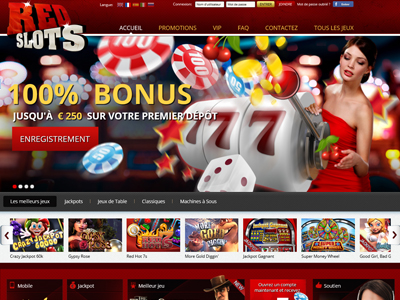 Casino en ligne RED SLOTS CASINO