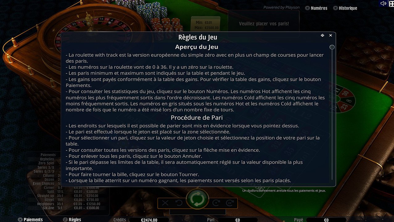casino roulette comment jouer