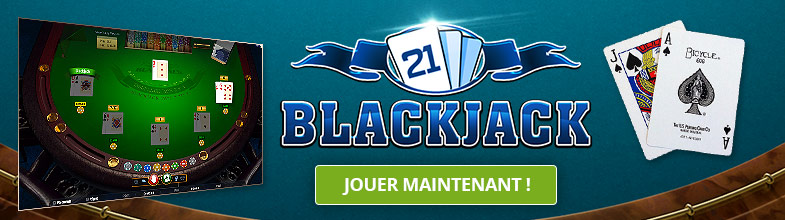 Jeu de table : Blackjack en ligne