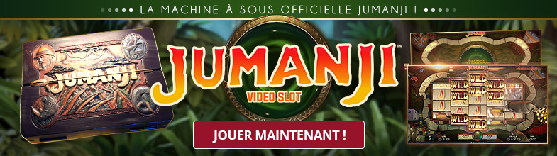 Machine à sous officielle Jumanji