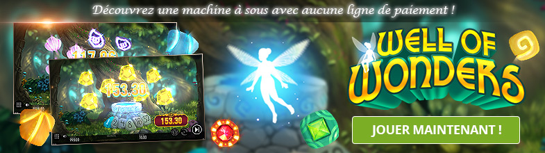 Essayez la machine à sous Thunderkick : Well of Wonders !