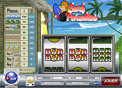 Jouer à la machine à sous  Surf Paradise sur Casino Play2Win !