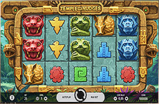 Formez des combinaisons de symboles sur la slot Temple of Nudges !