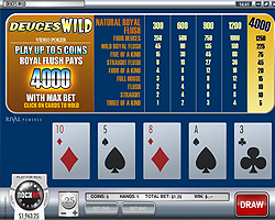 Video Poker en ligne sur Casino Rockbet!