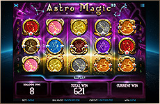 Astro Magic : machine à sous bonus