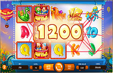 Big Win (gros gains) sur la slot Theme Park de NetEnt