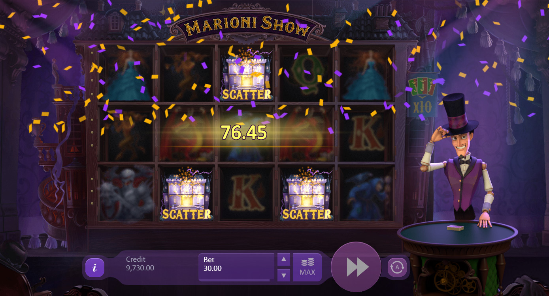 Marioni Show Slot Machine