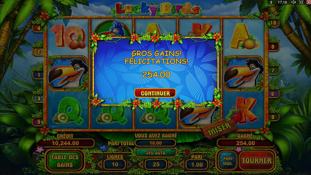 Lucky Birds Slot Machine