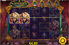Gagner le jackpot Red Tiger 10 001 Nights