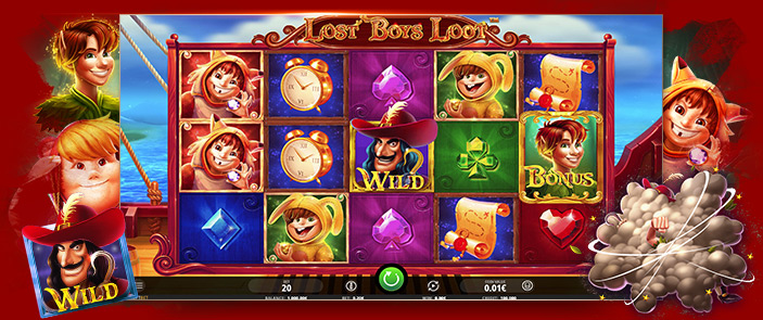 Machine à sous Peter Pan iSoftbet : Lost Boys Loot, jeu de casino avec bonus !