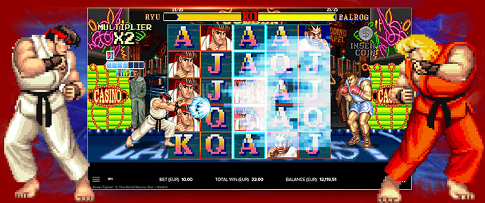 Street Fighter II: La machine à sous Rétro-Gaming que vous attendiez !