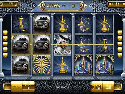 The Emirate Slot Machine