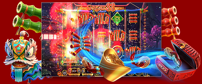 Revue test du jeu gratuit de casino, la slot Great 88 de Betsoft Gaming