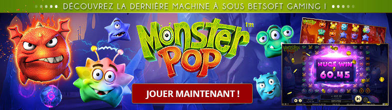Machines à sous vidéo Monster Pop Betsoft Gaming