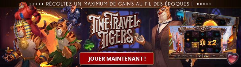 Jouer machine à sous gratuit Time Travels Tigers